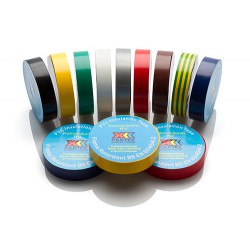 Red Insulation Tape 19mm x 20m, 1 roll