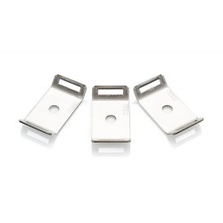 Stainless Steel Cable Tie Mount with M4 Fixing, Pack  of 50