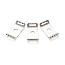 Stainless Steel Cable Tie Mount with M6 Fixing, Pack of 50