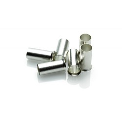 25mm Uninsulated Cord End Ferrule, Pack of 100