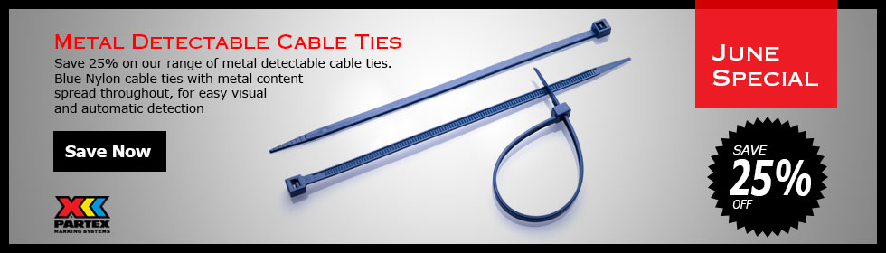 Metal Detectable Ties