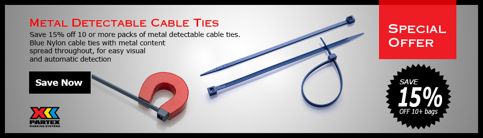 Metal Detectable Ties