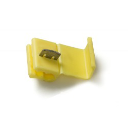 Yellow Quick Splice Connector for Wire Size 3.2-6.0mm, Pack of 50